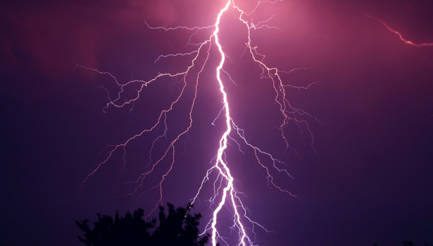 When lightening strikes, call Ouellette and Associates!